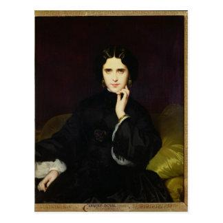 Portrait de Jeanne de Tourbay 1862 Carte Postale