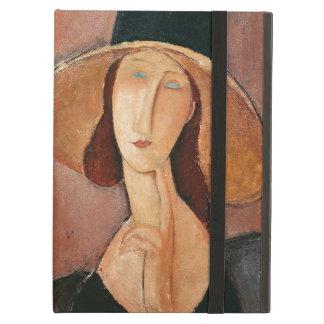 Portrait de Jeanne Hebuterne dans un grand