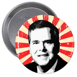 Portrait de Jeb Bush Badge