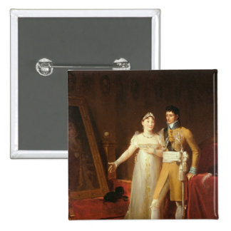 Portrait de Jerome Bonaparte et son épouse Pin's