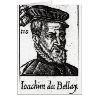 Portrait de Joachim du Bellay Carte De Vœux