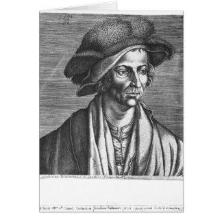 Portrait de Joachim Patinir, 1521 Carte De Vœux