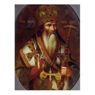 Portrait de Joachim, patriarche de Moscou Cartes Postales