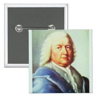 Portrait de Johann Sebastian Bach Badge