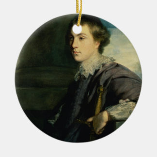 Portrait de John Charles Spencer, seigneur Althorp Ornement Rond En Céramique
