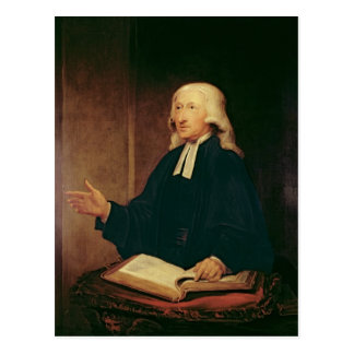 Portrait de John Wesley 1788 Carte Postale