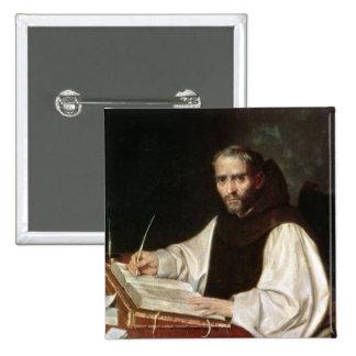 Portrait de Jose de Siguenza, antérieurement et bi Badge Carré 5 Cm