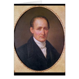 Portrait de Joseph Nicephore Niepce 1854 Carte De Vœux