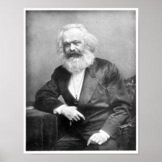 Portrait de Karl Marx Posters