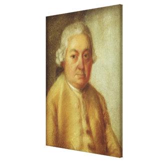 Portrait de Karl Philipp Emanuel Bach, c.1780 Toiles