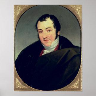 Portrait de Karl Thomas Mozart Affiche