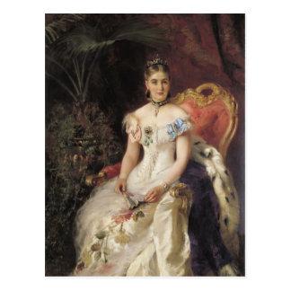 Portrait de Konstantin Makovsky- de comtesse Maria Cartes Postales