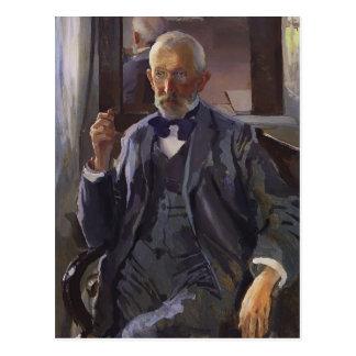 Portrait de Konstantin Somov- d'A. Somov Carte Postale