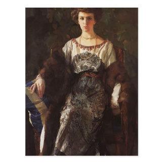 Portrait de Konstantin Somov- d'Ewfimia Nosova Carte Postale