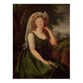 Portrait de la comtesse du Barry 1789 Cartes Postales