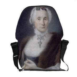 Portrait de la mère de l'artiste, Cecilia Guardi,  Besaces