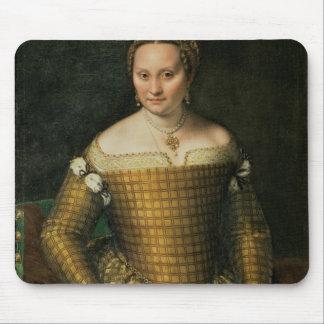 Portrait de la mère de l'artiste tapis de souris