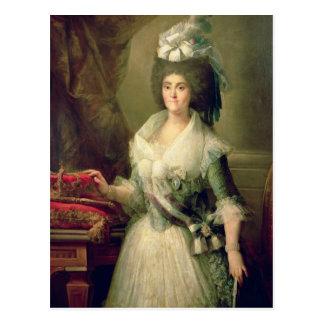 Portrait de la Reine Maria Luisa Carte Postale