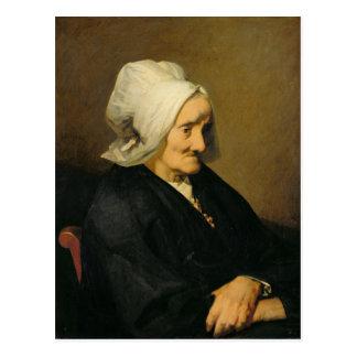 Portrait de la veuve Roumy Carte Postale