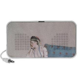 Portrait de lancer de Mary Haut-parleur iPod