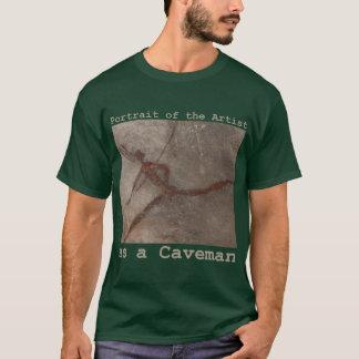 portrait de l'artiste t-shirt