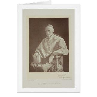 Portrait de l'effectif cardinal de Henry Edouard ( Carte De Vœux