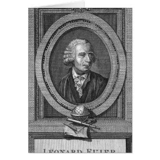 Portrait de Léonard Euler Carte De Vœux