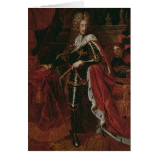 Portrait de Leopold I, empereur romain saint Carte De Vœux