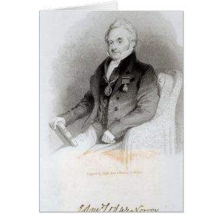 Portrait de loge d'Edmund Carte De Vœux
