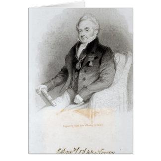 Portrait de loge d'Edmund Cartes