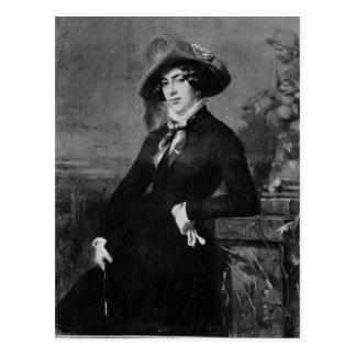 Portrait de Lola Montez, 1844 Carte Postale