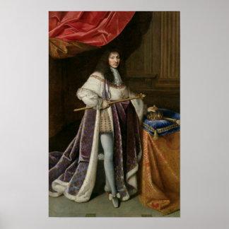 Portrait de Louis XIV 2 Posters