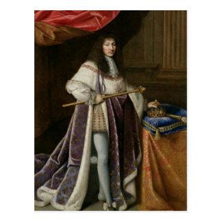 Portrait de Louis XIV Carte Postale