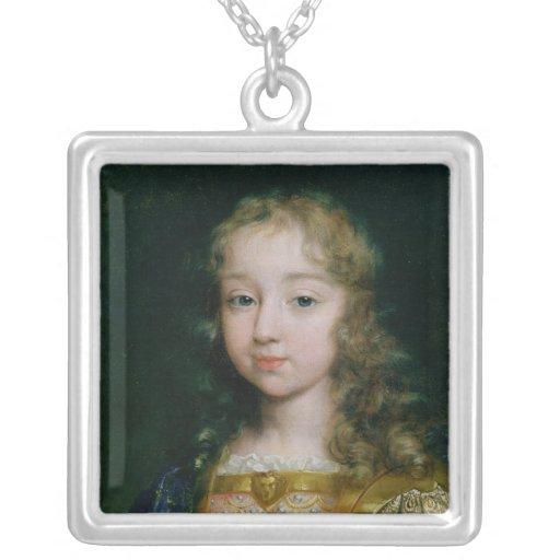 Portrait de Louis XIV en tant qu'enfant Pendentif Personnalisé