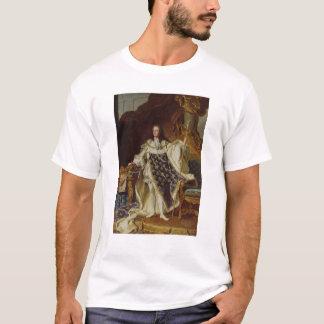 Portrait de Louis XV dans des ses robes longues de