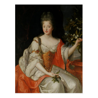 Portrait de Louise-Francoise de Bourbon Carte Postale