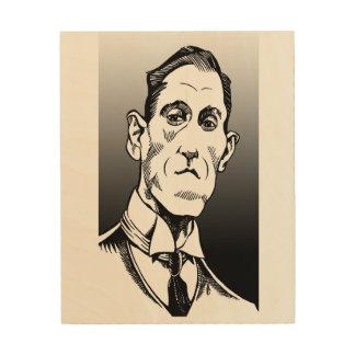 Portrait de Lovecraft, art de Lovecraft, art en