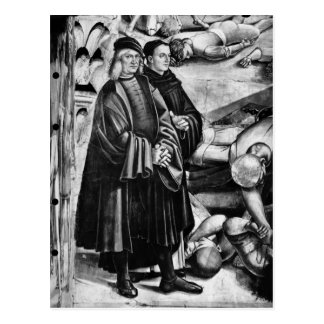 Portrait de Luca Signorelli et d'ATF Angelico Carte Postale