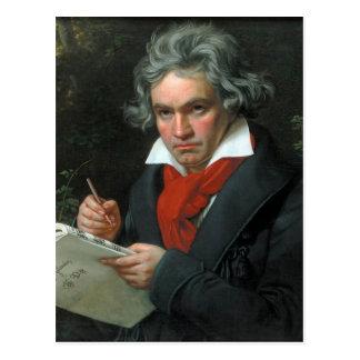 Portrait de Ludwig van Beethoven Carte Postale