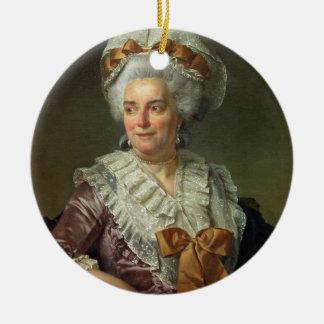 Portrait de Madame Charles-Pierre Pecoul, Pota nee Ornement Rond En Céramique