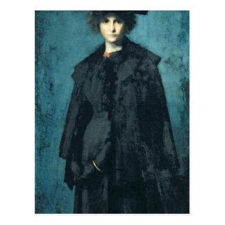 Portrait de Madame Laura Leroux Carte Postale