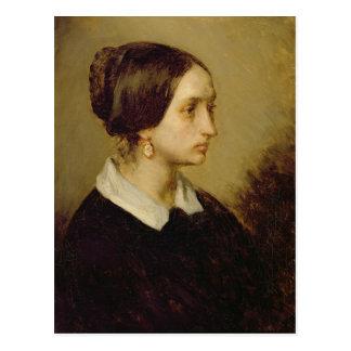 Portrait de Madame Ono, 1844 Carte Postale