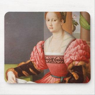 Portrait de Madame Tapis De Souris