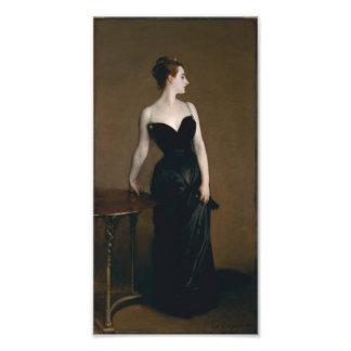 Portrait de Madame X par John Singer Sargent, 1884 Photo Sur Toile