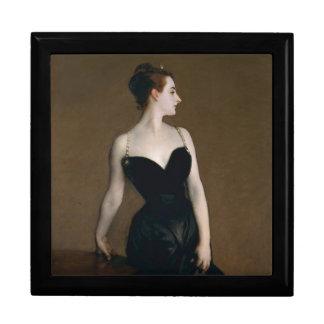 Portrait de Madame X par John Singer Sargent, 1884 Grande Boîte À Bijoux Carrée