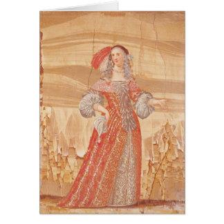 Portrait de Madeleine Bejart dans le rôle de Carte De Vœux