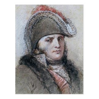 Portrait de maréchal Davout, d'Echmuhl de prince Carte Postale