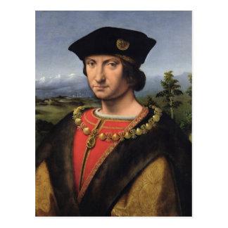 Portrait de maréchal de d'Amboise de Charles de la Carte Postale