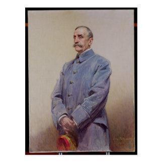 Portrait de maréchal Ferdinand Foch 1920 Carte Postale