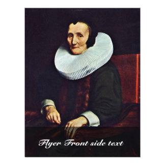 Portrait de Margaretha De Geer épouse de voyage d Prospectus